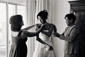 Wedding Sampler Bride in Preparation