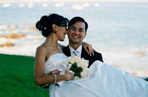 Wedding Sampler Groom carrying Bride