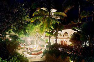 Wedding Sampler Hotel at Night