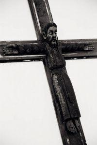 Wedding Sampler Wooden Cross