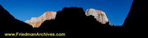 Zion National Park Panorama (sunset)