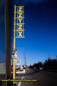 Zzyzx Gas Station