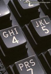 Telephone keypad closeup 8x12 300 dpi