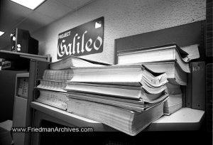 NASA,technology,computing,historic,ancient,JPL,paper,recycle,waste,line printer,