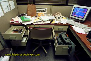 NASA,JPL,Gary Friedman,messy,desk,