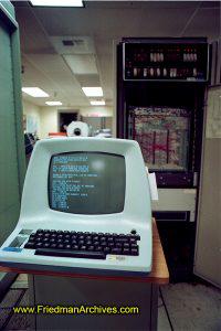 NASA,technology,computing,historic,ancient,JPL,video,terminal,data,VT-100,