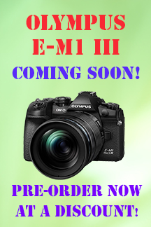 Olympus E-M1 III